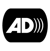 Audio description logo